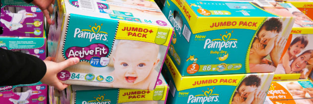 Des résidus de produits toxiques dans les couches pour bébé